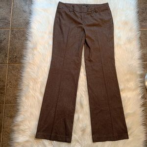 7th Ave Suiting New York &Co Dress Pant Brown Tall